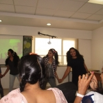 "Dance ""chanda chamke"" by the students"