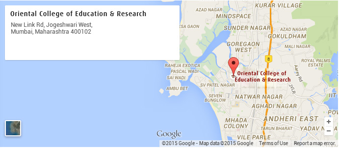 Oriental-College-of-Education-&-Research-map
