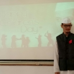 Student  in the memory of Chacha Nehru